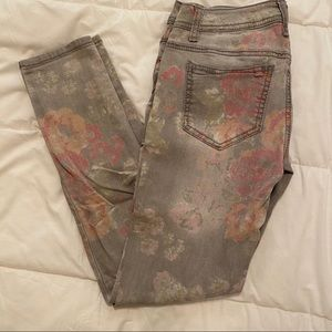 Mossimo Floral jeans